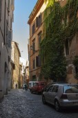 Rome, Italy, on October 10, 2012. Typical urban view — Stock Photo