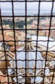 Rome, Italy, on February 22, 2010. A view of the city from a survey platform of St. Peter's Cathedral — Stock Photo