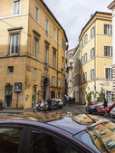 Rome, Italy, on February 21, 2010. Typical urban view — Stock Photo