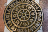 Rome, Italy. fragment of interiors of St. Peter's Cathedral — Foto Stock
