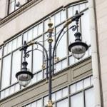 St. Petersburg, Russia, on November 3, 2014. The beautiful lamp stylized semi-antique — Stock Photo #57505605