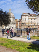 Rome, Italy, on February 25, 2010. Typical urban view — Foto Stock