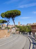 Rome, Italy, on February 25, 2010. Typical urban view — Stock Photo