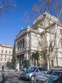 Řím, Itálie, 25 únor, 2010. Budování Sborová synagoga — Stock fotografie