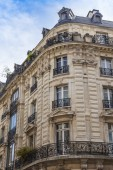 Paris, France, on May 3, 2013. Typical architectural detailes — Stock fotografie