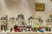 Paris, France, on May 4, 2013. Parisian Passage, typical look. Show-window of toy store — Stock Photo