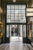 Paris, France, on May 4, 2013. Parisian Passage, typical look. — Foto Stock