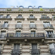 Paris, France, on May 3, 2013. Typical urban view. Historical house — Stock Photo #60455285