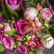 Bright bouquet of roses of various grades — Stock Photo #60527127