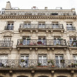 Paris, France, on May 3, 2013. Typical urban view. Historical house — Stock Photo #60527141