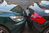 Paris, France, on March 24, 2011. Features of a parking on the Parisian street — Stock Photo