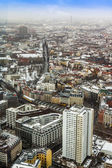Berlin, Germany, on February 20, 2013. A view of the city from a survey platform of a television tower in the winter — Stock Photo