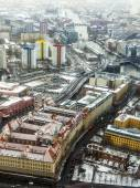 Berlin, Germany. View of the city from above — ストック写真