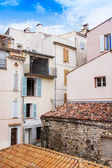 Antibes, France, on October 15, 2012. A typical urban view in French riviera. Antibes - one of the most known resorts of the French Riviera — Stock Photo