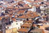 Nice, France, on March 13, 2015. The top view on the old city from Shatto's hill — Foto de Stock