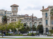 Nice, France, on March 13, 2015. Typical city architecture — Stock Photo