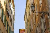 Nice, Francja, na 7 marca 2015. Typowy widok miejski — Zdjęcie stockowe