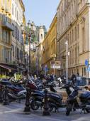Nice, France, on March 7, 2015. Typical urban view — Stock fotografie