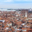 VENICE, ITALY - on APRIL 30, 2015. The top view on island part of the city — Stock Photo #73850601