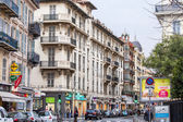 Nice, France, on March 14, 2015. Typical urban view. — Stok fotoğraf