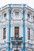 MOSCOW, RUSSIA, on MAY 24, 2015. Architectural details of typical old Moscow mansions (XVIII-XIX century) — Stock Photo