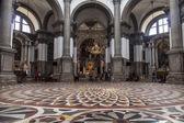 VENICE, ITALY, on MAY 3, 2015. Virgin Mary's basilica of Curing (Basilica di Santa Maria della Salute) — Stock Photo