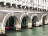 VENICE, ITALY - on MAY 4, 2015. City landscape. Buildings on the embankment reflect in the water of the channel — Stock Photo