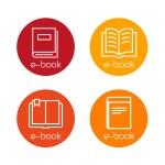 E-book Icons — Stock Vector #71935875