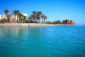 Landscape of the Egypt El Gouna — Stock Photo