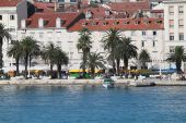 Cityscape in Croatia- Split — Stock Photo