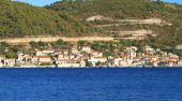 Turquoise sea in Croatia Vis Island — Foto de Stock