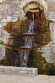 Beautiful waterfall in Thassos — Stock Photo