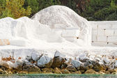 White marble quarry — Stock Photo