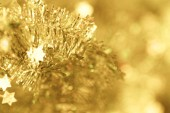 Christmas decoration Tinsel — Foto Stock