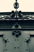 Old welded bridge — Stock Photo