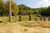 Old ruins in Greece — Stock Photo