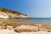 Hermoso mar en thassos — Foto de Stock