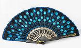 Красивые и красочные Вентилятор — Стоковое фото