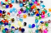 Beautiful glass beads — Stock Photo