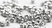 Beautiful metal beads — Stock Photo