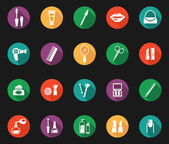 Colorful Hygiene and Grooming Graphic Symbols — Vetorial Stock