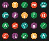 Colorful Hygiene and Grooming Graphic Symbols — ストックベクタ