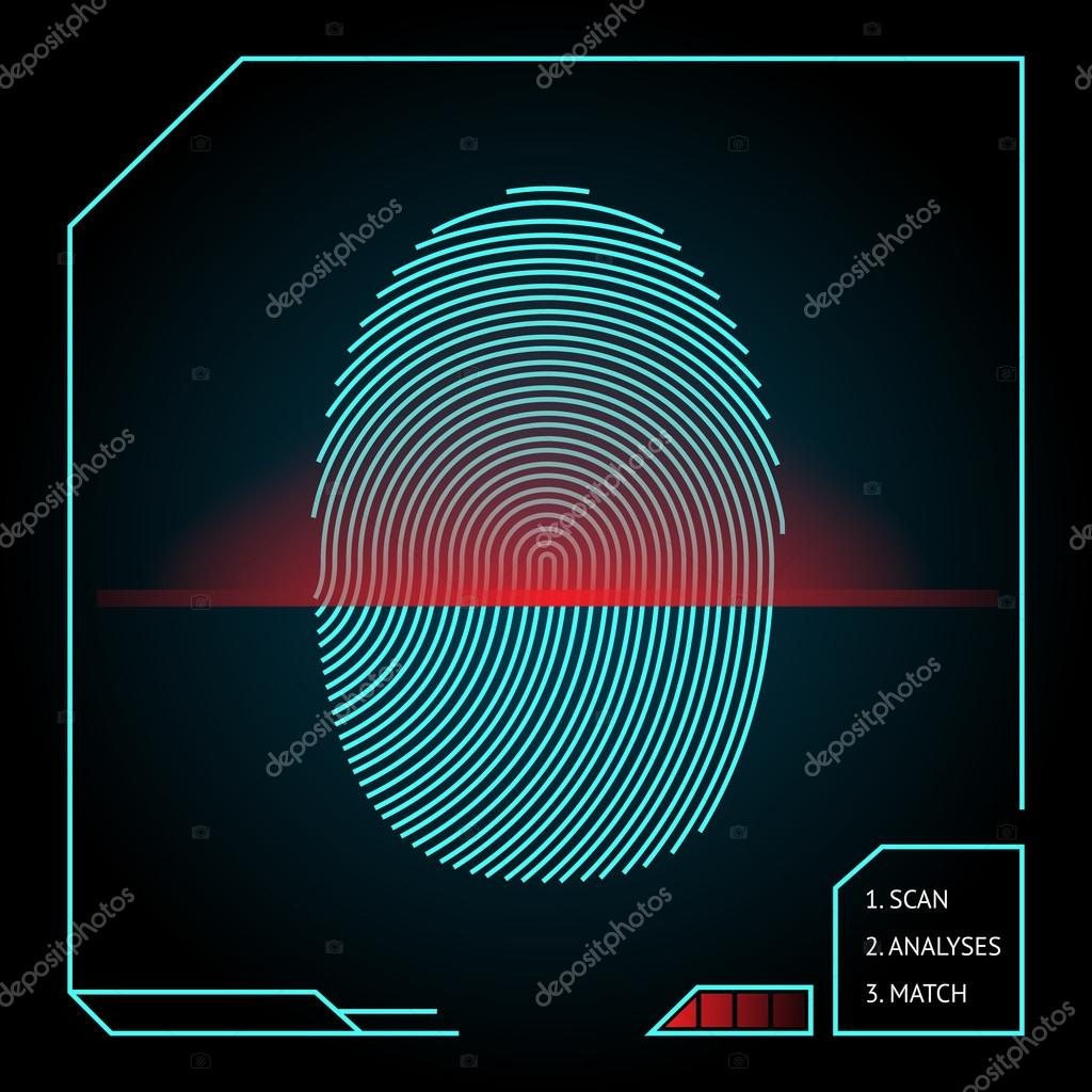 fingerabdruck scan
