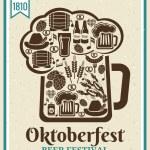 Oktoberfest Beer Festival poster — Stock Vector #54294675