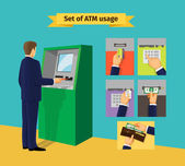 Bankomat — Wektor stockowy