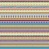 Ethnic geometric pattern — Stock Vector