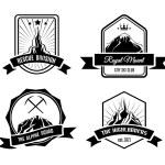 Mountain badges — Stock Vector #62751913