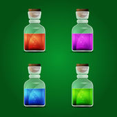 Vector magic potion — Stock Vector