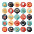 Fashion accessories flat icons — Stock Vector #72549329