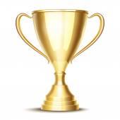 Vector winner trophy cup — Stock Vector